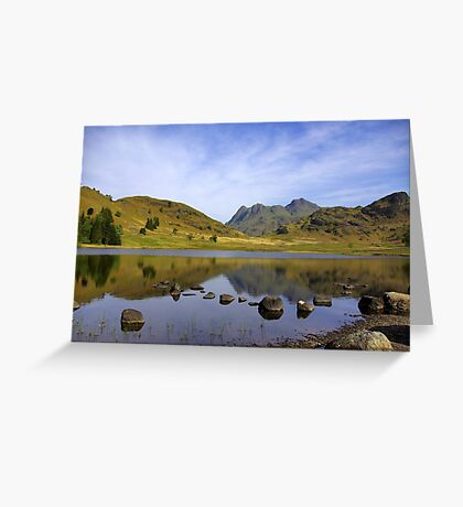 Peaceful Waters - Blea Tarn Greeting Card