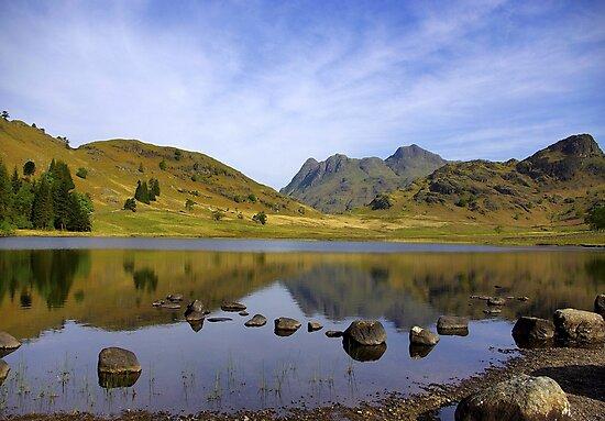 Peaceful Waters - Blea Tarn by Trevor Kersley