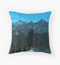 Beauty of Skyrim Throw Pillow