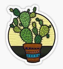 Cacti Family Sticker