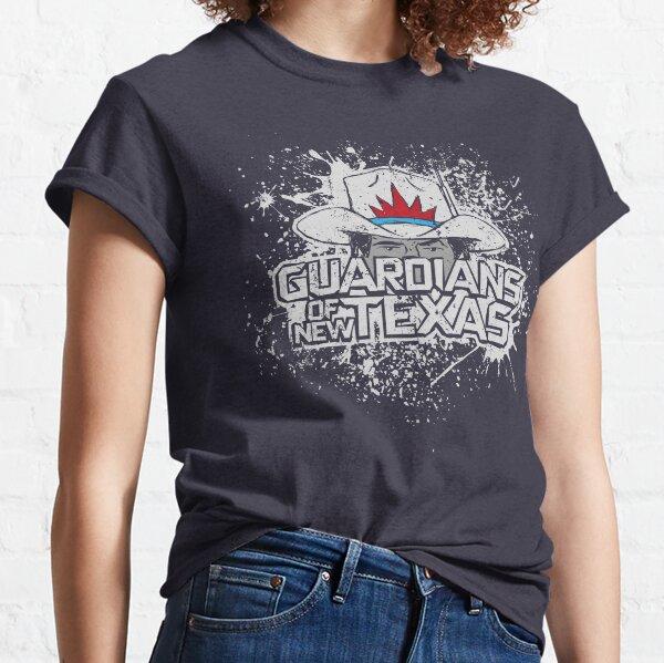 Ein Gesetzloser kommt hierher mit Waschbärenkräften und einem Baum Classic T-Shirt