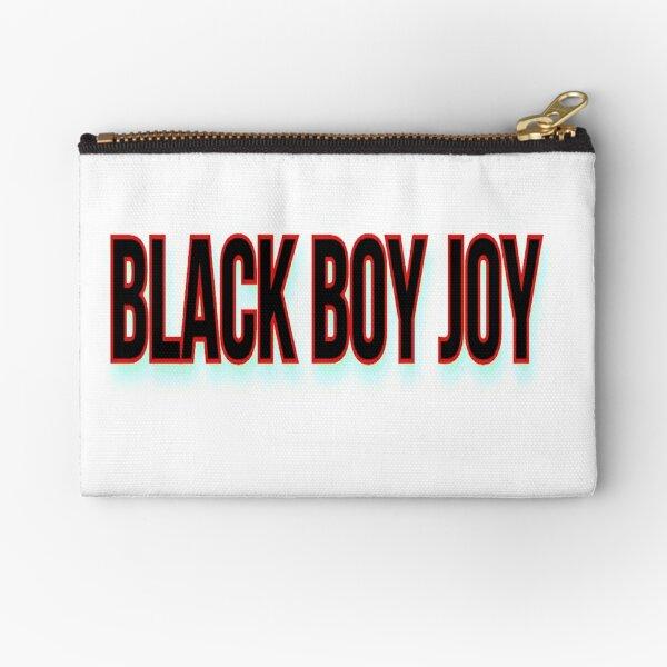 BLACK BOY JOY Zipper Pouch