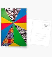 Harlequin Shapes Postcards
