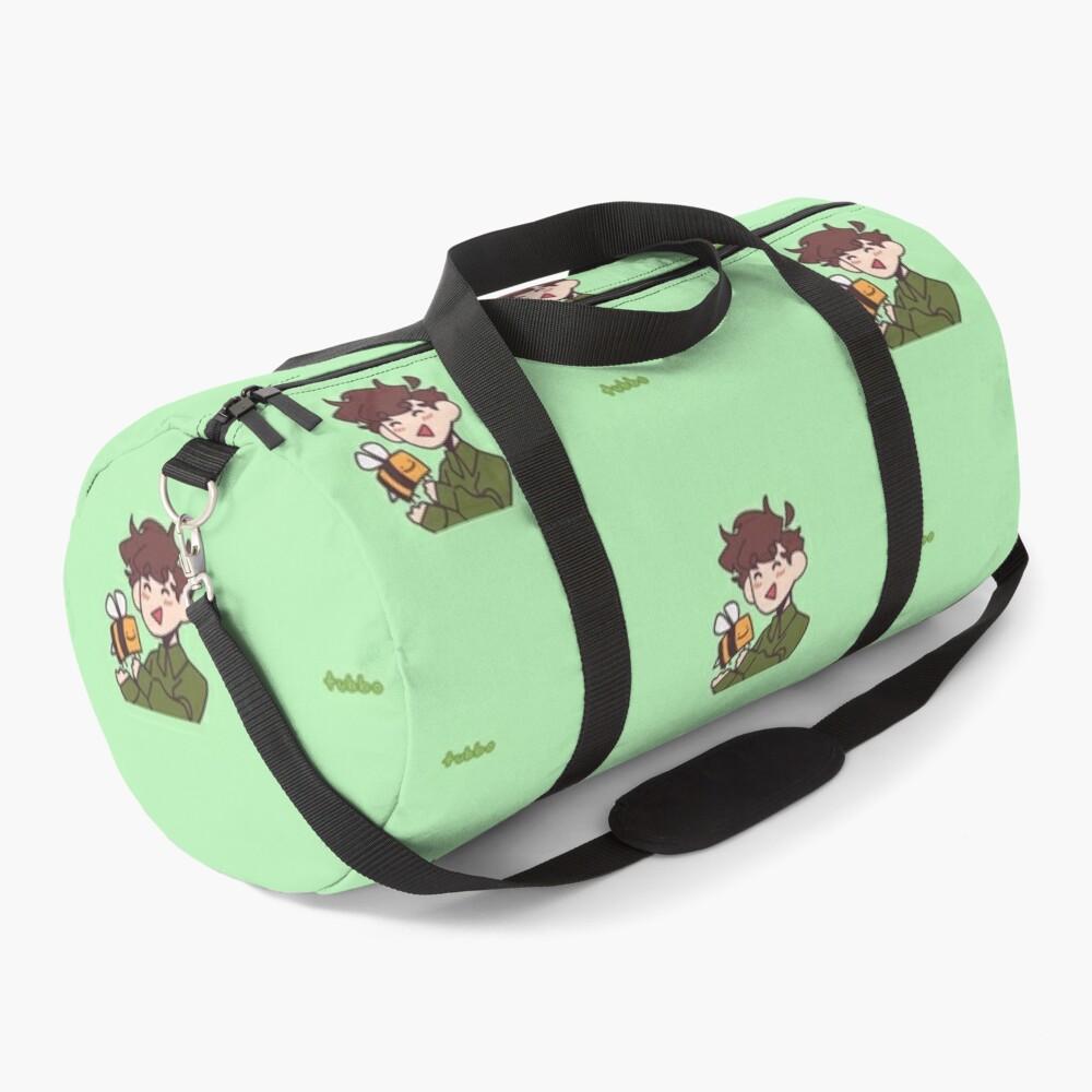 Tubbo Moments Green Duffle Bag