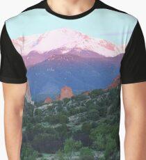 A Pikes Peak Sunrise Graphic T-Shirt