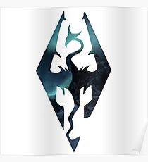 Skyrim - Elder Scrolls Aesthetic Poster