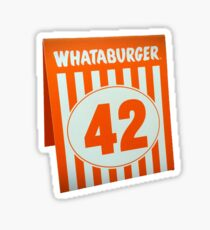 whataburger sticker Sticker