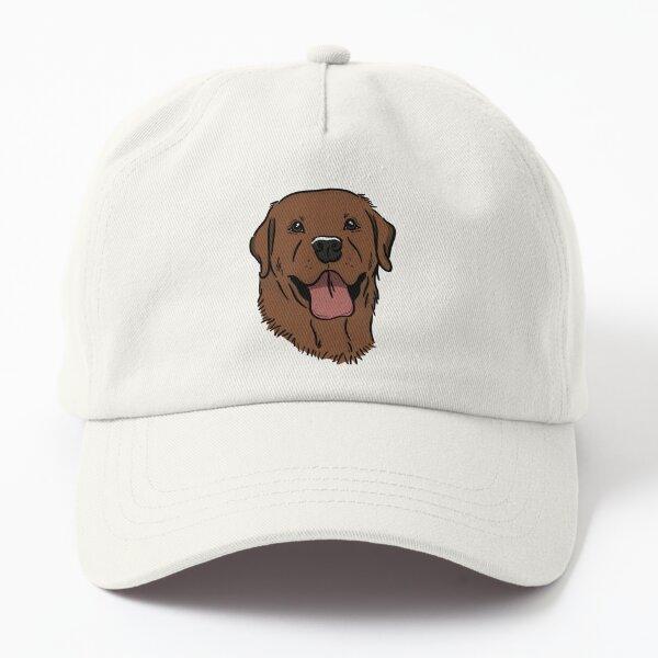 A Happy Fox Red Lab  Dad Hat