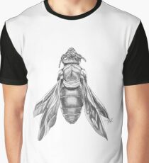 Orchid Cuckoo Bee Illustration Graphic T-Shirt