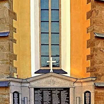 World War 1 & 2 memorial | architectural photography by patrickjobst