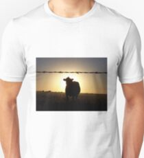Cow at Sunset Unisex T-Shirt