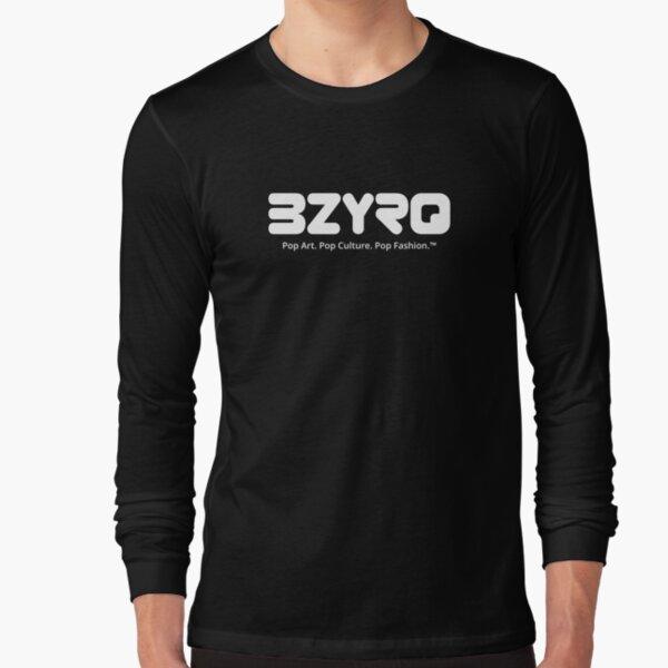BZYRQ Logo (White on Black) Long Sleeve T-Shirt