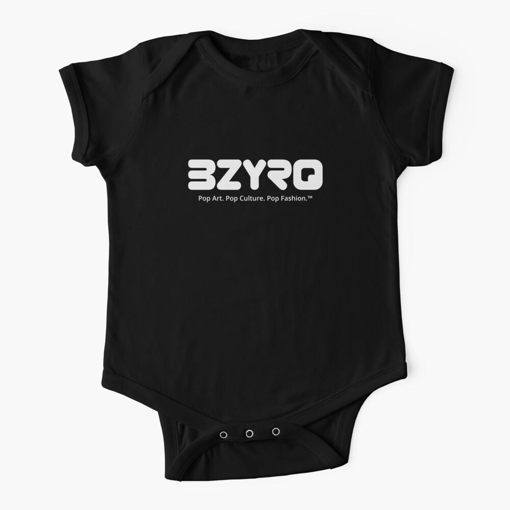 BZYRQ Logo (White on Black) Baby One-Piece
