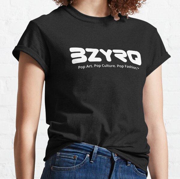 BZYRQ Logo (White on Black) Classic T-Shirt