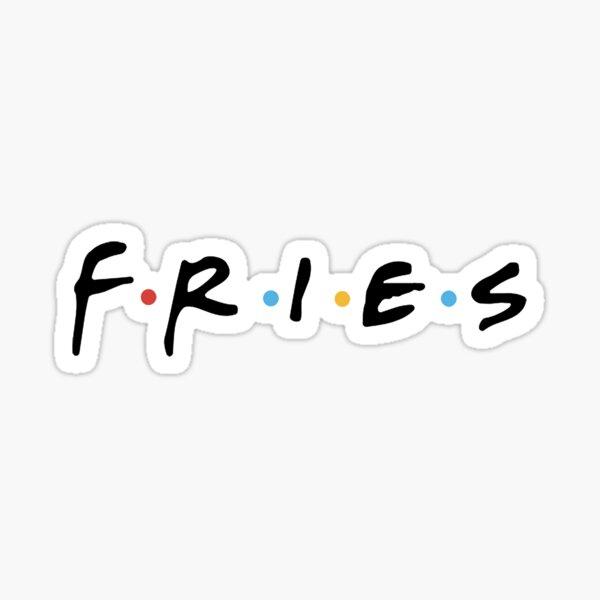 FRIES Sticker