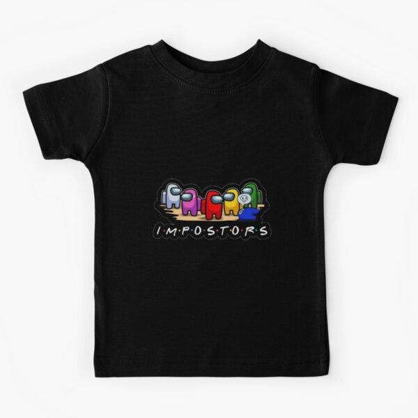 Entre nosotros impostores Camiseta para niños