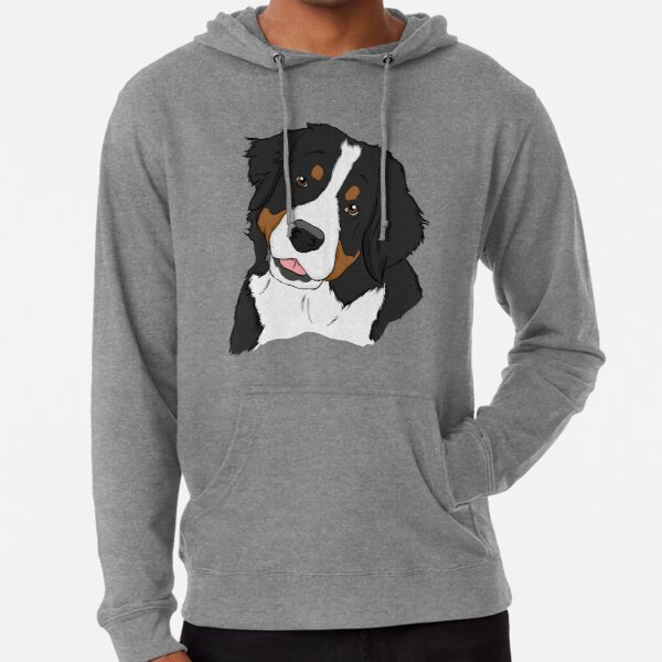 Bernese Mt. Dog  Lightweight Hoodie