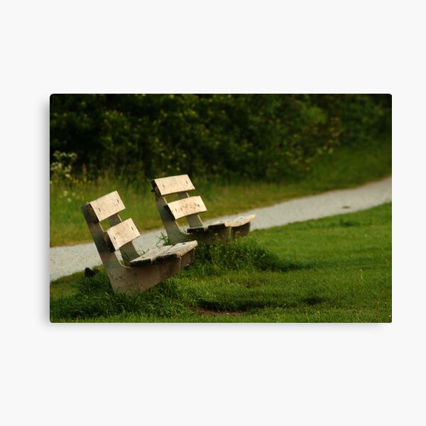 An inviting place to pauze...  Canvas Print
