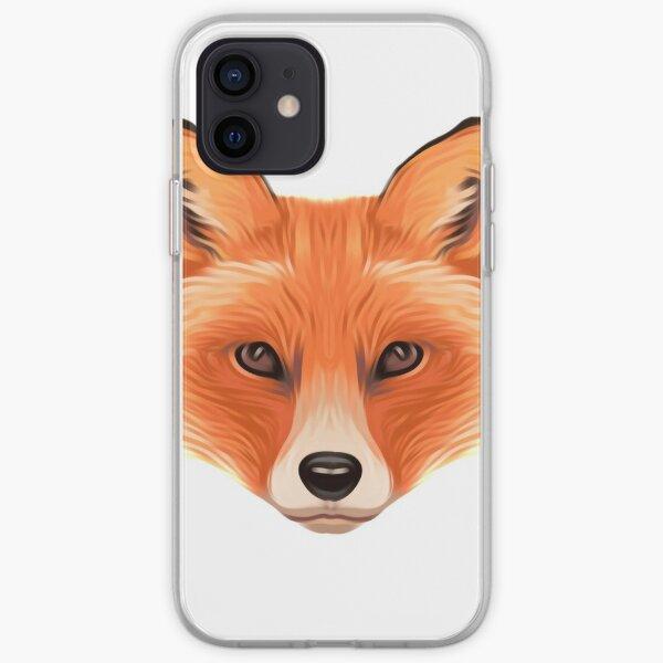 Orange Fox iPhone Soft Case