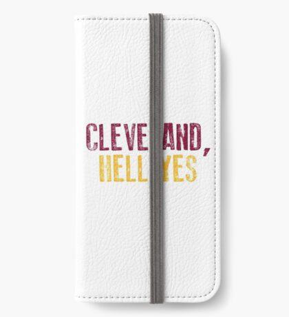 Cleveland, Hölle Ja iPhone Flip-Case
