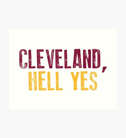 Cleveland, Hölle Ja Kunstdruck
