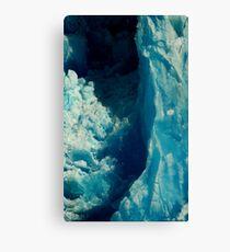 Glacier print Canvas Print