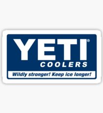 YETI Cooler Sticker Sticker