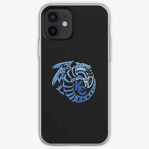 Blue Eyes White Dragon iPhone Soft Case