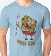 Hi Jerusalem - Ponge Bob Unisex T-Shirt