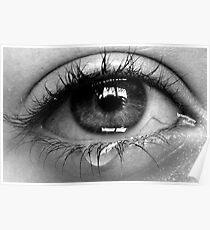crying eye Poster