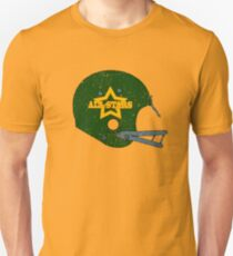 Vintage Look American Football Helmet All-Stars T-Shirt