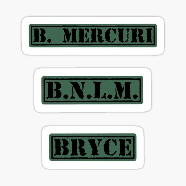 Bryce Mercuri's Sticker