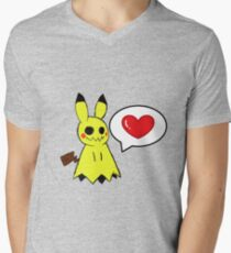 Mimikyu Men's V-Neck T-Shirt