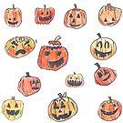 13 pumpkins by shortandsharp