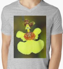 Yellow Orchid Macro T-Shirt