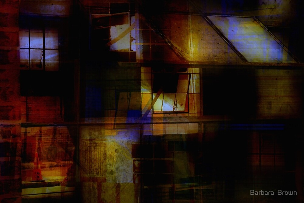 Urban Abstract by Barbara  Brown
