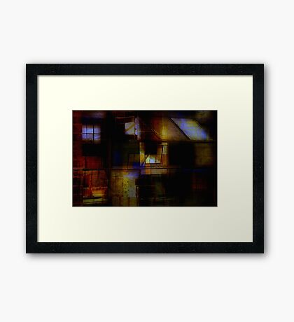 Urban Abstract Framed Print
