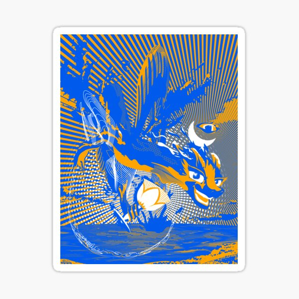 The Archangel Dragons Of The Directions: Gabriel Sticker