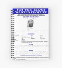 Wanted Spiral Notebook
