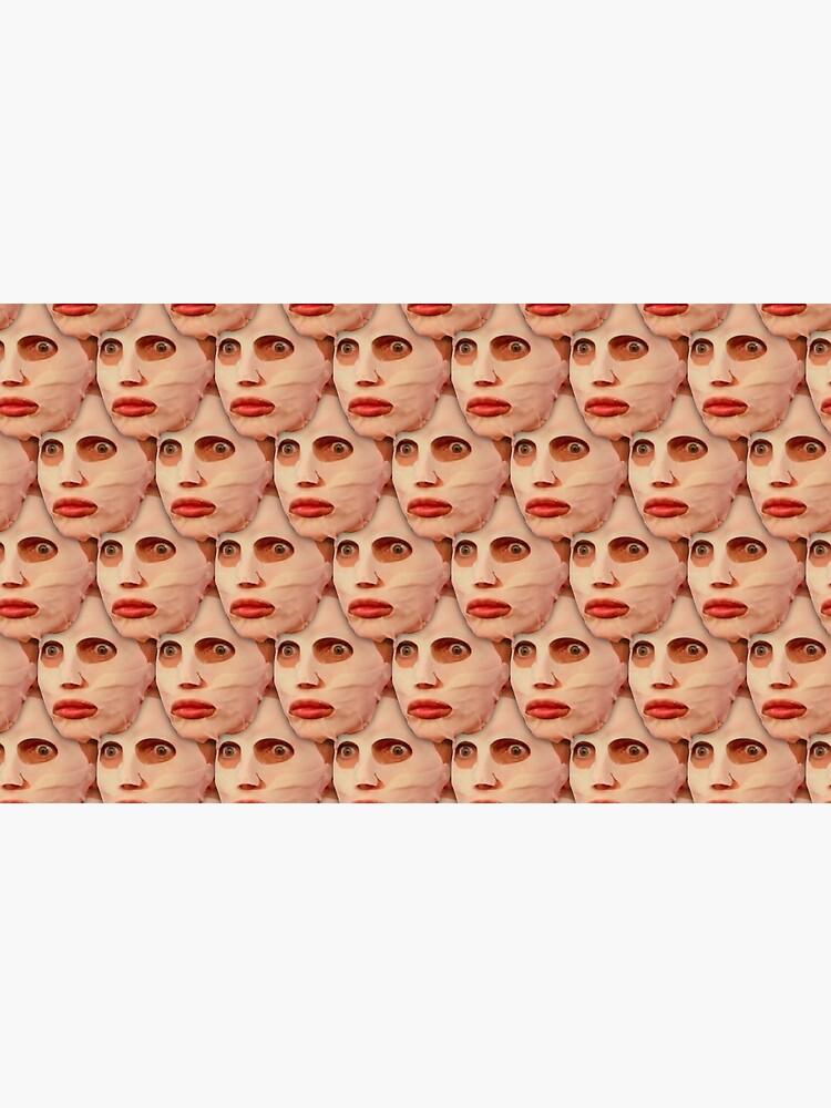 Alyssa Edwards Beauty Mask Pattern by llier4