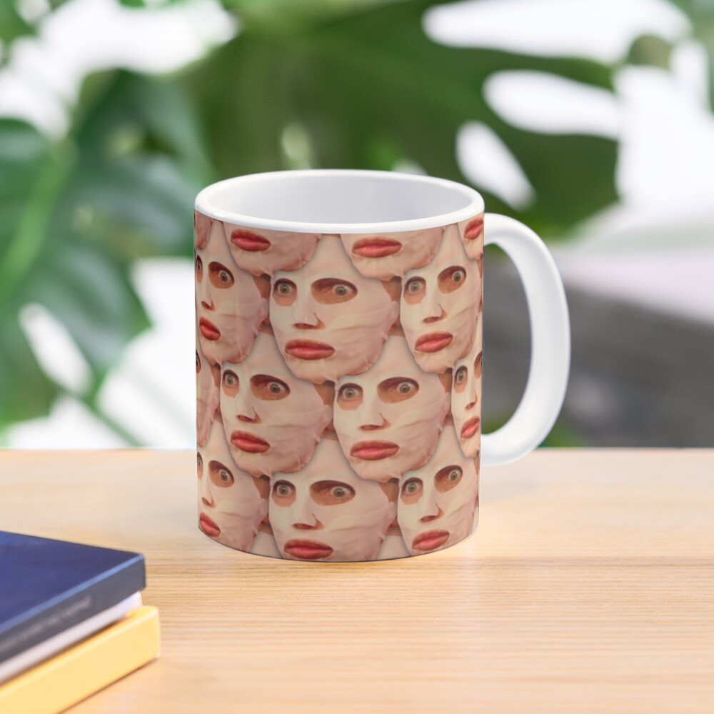 Alyssa Edwards Beauty Mask Pattern Mug