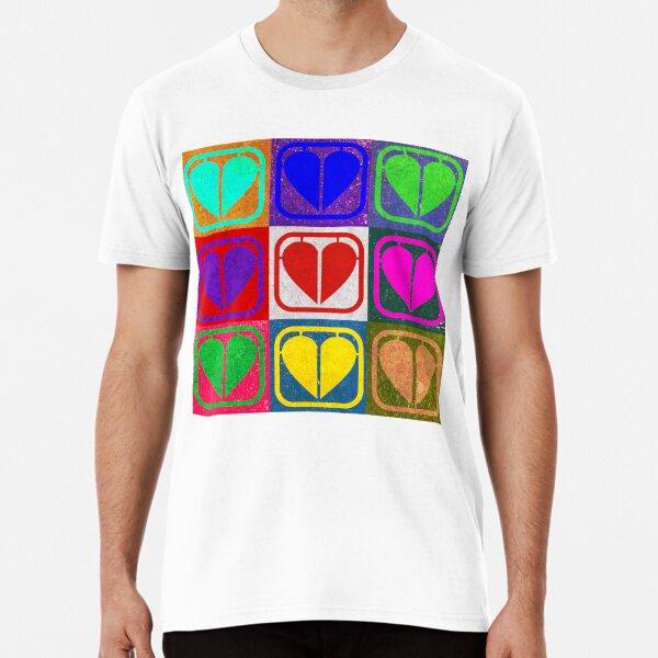 Warhol Heart Part Premium T-Shirt