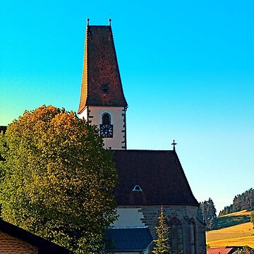The village church of Hirschbach 2 by patrickjobst