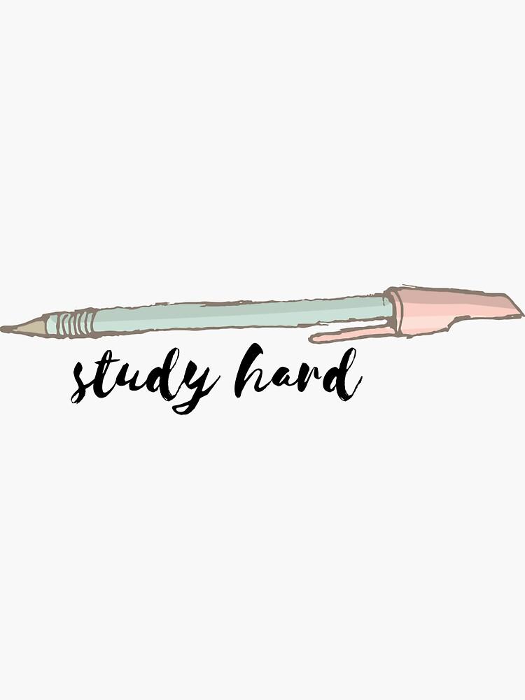 Study Hard #trending #motivation by cadinera