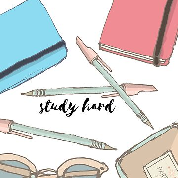 Study Hard #trending #motivation de cadinera