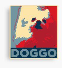 "Doggo ""Hope"" Parody Canvas Print"