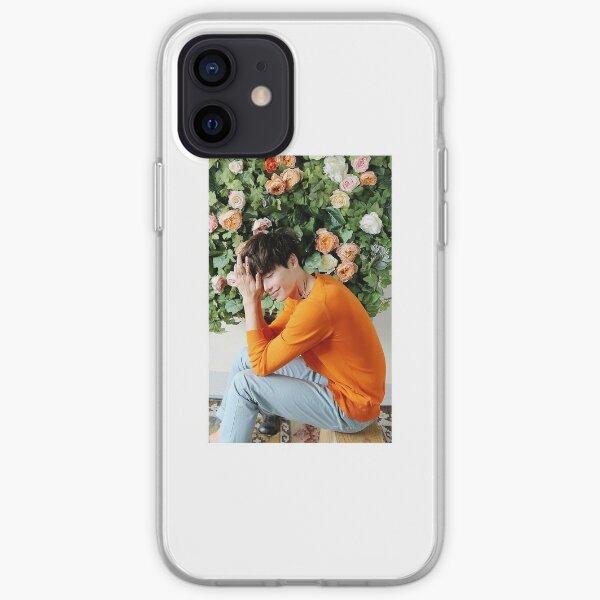 Lee Jong Suk phone case #2 (white border) iPhone Soft Case