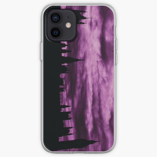 Second Dramatic Houses of Parliament At Dusk With Purple Clouds iPhone Soft Case