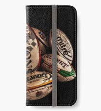 Rugby Balls iPhone Wallet/Case/Skin