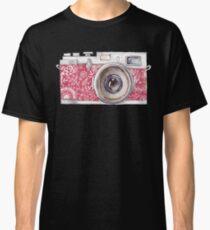 Vintage Pink Camera #trending Classic T-Shirt